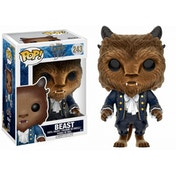 Beast Flocked (Disney Beauty & The Beast) Funko Pop! Vinyl Figure