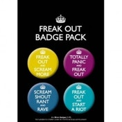 Freak Out Badge Pack