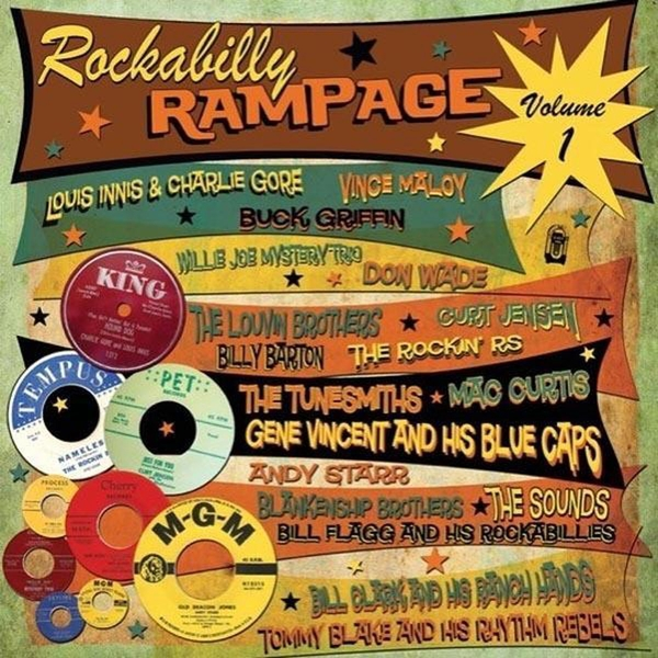 Various ‎– Rockabilly Rampage Volume 1 Vinyl