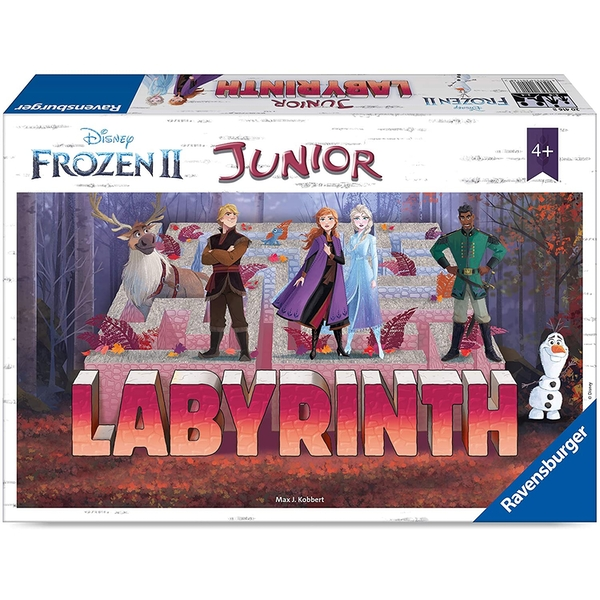 Disney's Frozen 2 Labyrinth Junior Board Game - Image 1