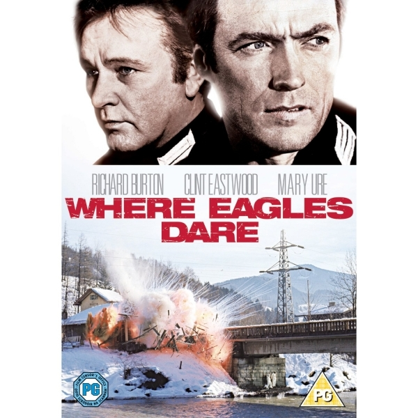 Where Eagles Dare DVD