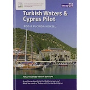Turkish Waters and Cyprus Pilot by Rod and Lucinda Heikell (Hardcover, 2018)