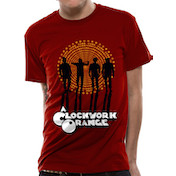 Clockwork Orange - Gang Men's Large T-Shirt - Red