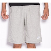 Nike Mens Fleece Shorts Grey Small Grey