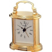 Seiko QHE109G Gold Mantel Clock