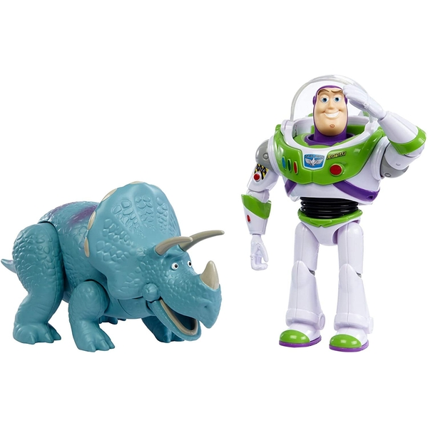 Buzz Lightyear and Trixie 2-Pack (Disney Pixar Toy Story) Figures