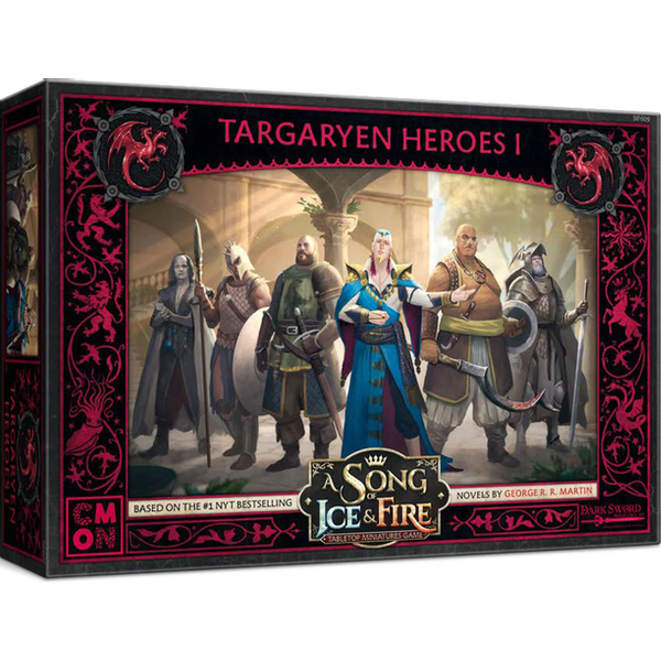 A Song Of Ice and Fire - Targaryen Heroes Expansion