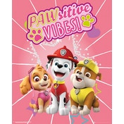 Paw Patrol Pawsitive Vibes Mini Poster