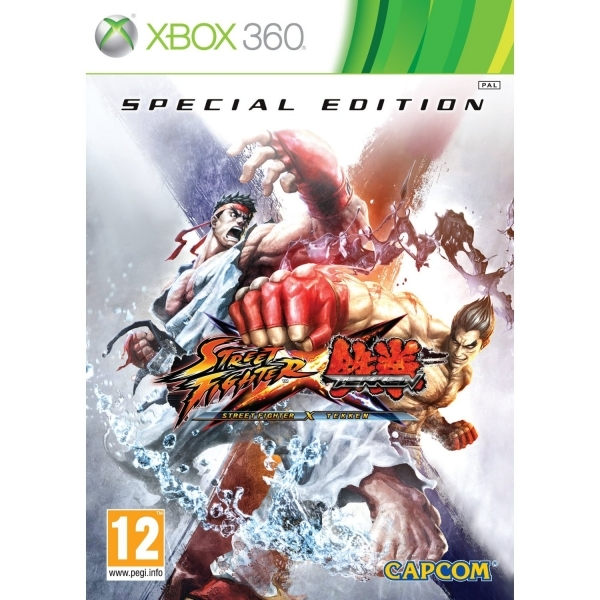 Street Fighter X Tekken Special Edition Game Xbox 360 - Image 1