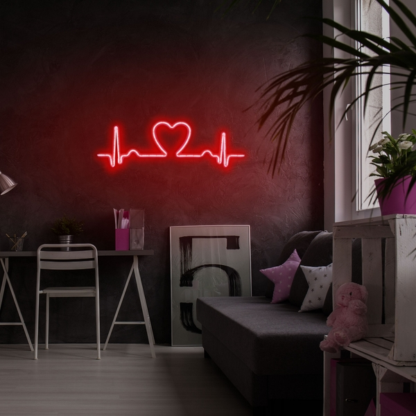 Love Rhythm - Red Red Wall Lamp