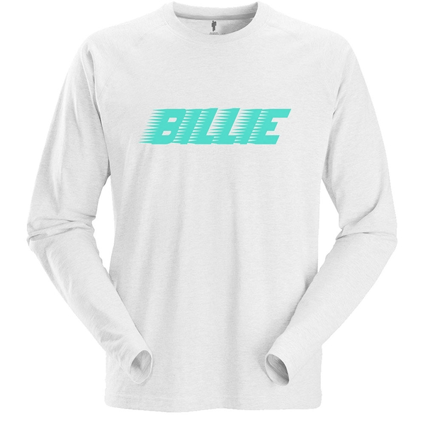 Billie Eilish - Racer Logo Unisex Small T-Shirt - White