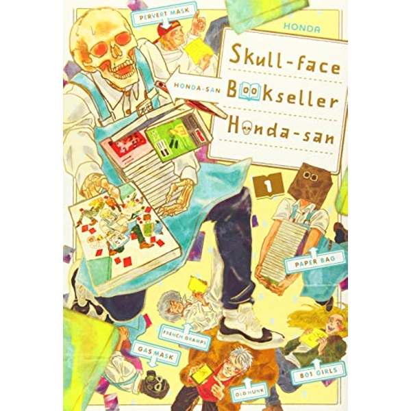 Skull-face Bookseller Honda-san, Vol. 1