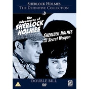 Sherlock Holmes - Adventures / The Secret Weapon DVD