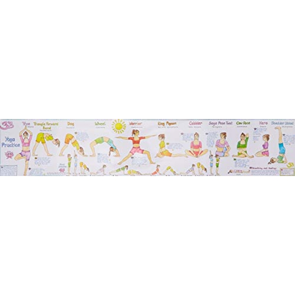 Yoga Practice Wall Chart Autumn and Winter Cooking 2003 Wallchart