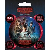 Stranger Things - One Sheet Vinyl Sticker