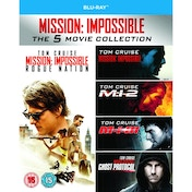 Mission Impossible 1-5 Blu-ray