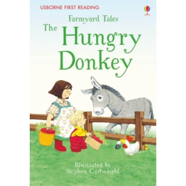 Farmyard Tales the Hungry Donkey by Heather Amery (Hardback, 2016)