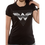 Wonder Woman Movie - Foil Triangle Women's XX-Large T-Shirt - Black