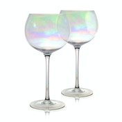 Iridescent Gin Glasses - Set of 2 | M&W