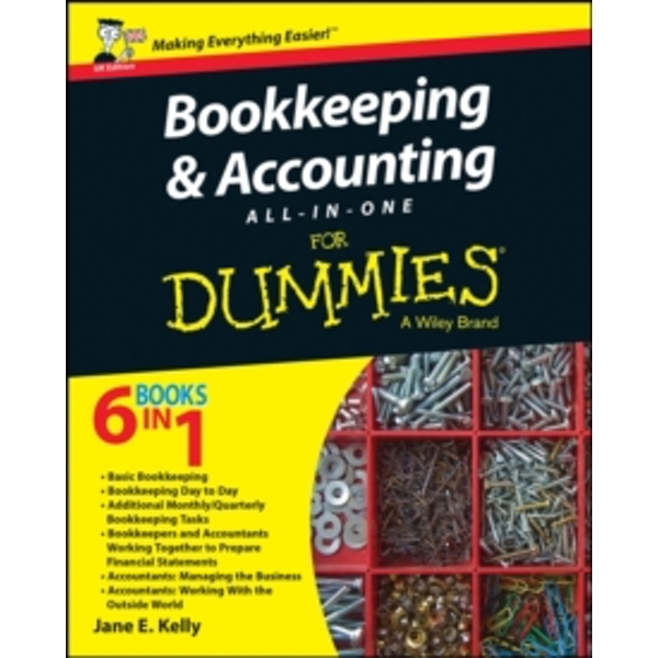 Bookkeeping & Accounting All-in-One For Dummies by Jane E. Kelly (Paperback, 2015)
