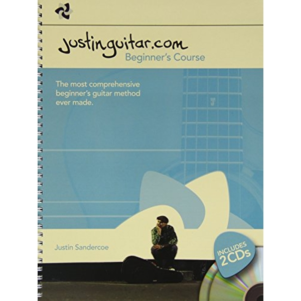 Justinguitar.com Beginner's Course - Book/2 CDs (Spiral Bound) by Music Sales Ltd (Paperback, 2014)