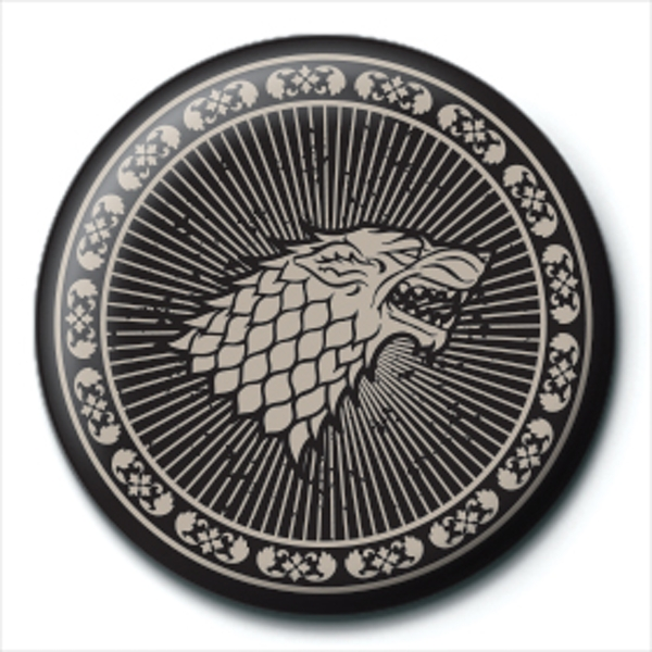 Game of Thrones - Stark Sigil Badge - Image 1