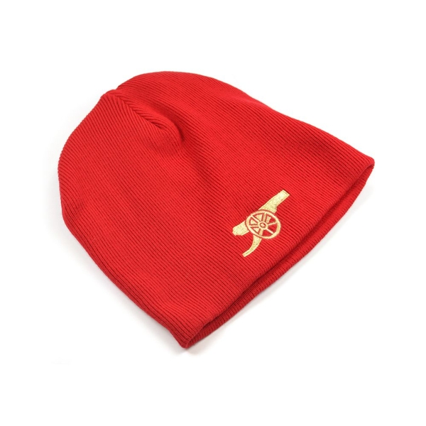 Arsenal Core Beanie Cannon Emblem Red