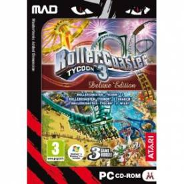 RollerCoaster Tycoon 3 Deluxe Edition Game PC