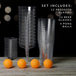 Party Drinking Pong Kit | Beer & Prosecco Glasses | Pukkr - Image 6