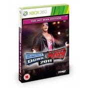 WWE Smackdown VS Raw 2011 Game The Hit Man Edition Xbox 360