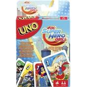 UNO DC Super Hero Girls Edition Card Game