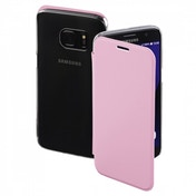 Hama Clear Booklet Case for Samsung Galaxy S7, rose