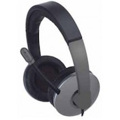 APPROX Professional Chat Headset with Built-in Microphone, Grey (APPHS06PRO)