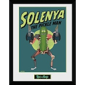 Rick and Morty Solenya Framed Collector Print