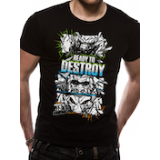Rampage - Ready To Destroy Men's Small T-Shirt - Black