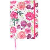 Floral Fusion A5 Notebook