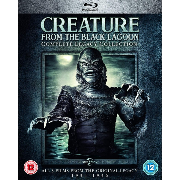 Creature from the Black Lagoon: Complete Legacy Collection Blu-ray