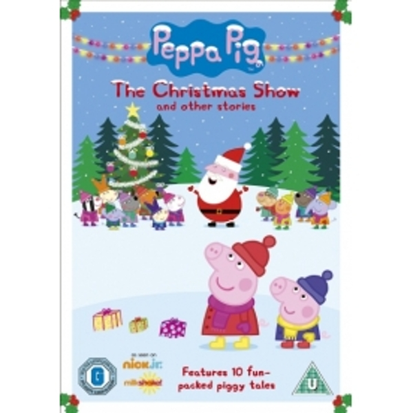 Peppa Pig Vol. 18 Christmas Show DVD