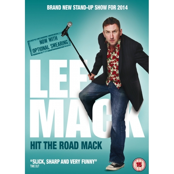 Lee Mack Hit the Road Mack DVD