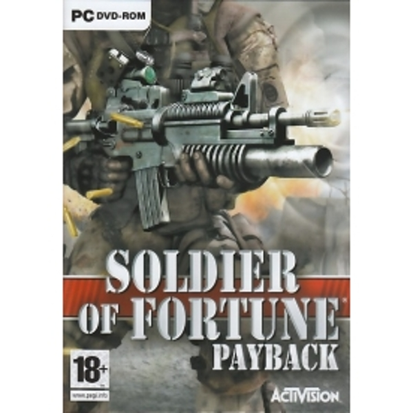 Soldier Of Fortune Payback Game PC