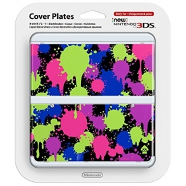 New Nintendo 3DS Cover Plates Splatoon Faceplate