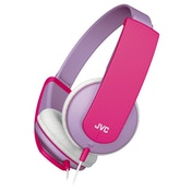 JVC HAKD5Z Tiny Phones Kids Stereo Headphones Lilac