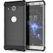 Sony Xperia XZ2 Compact Carbon Anti Fall TPU Case - Black - Image 2