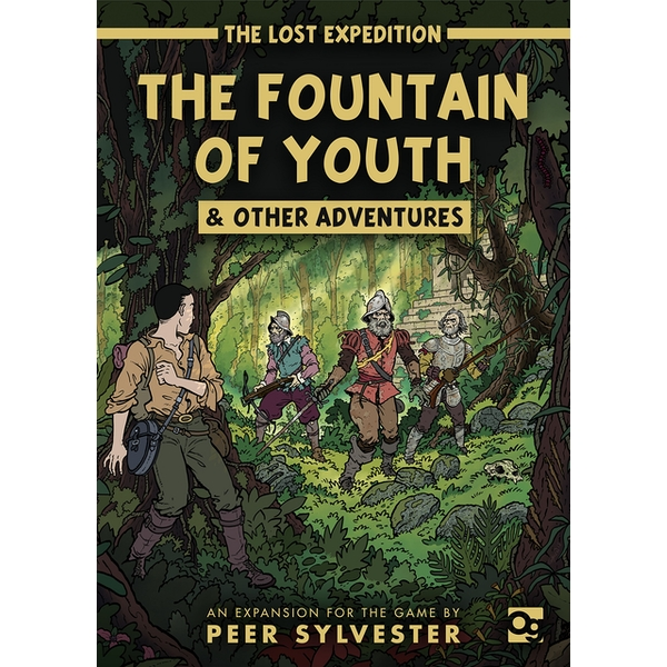 The Lost Expedition: Fountain of Youth and Other Adventures Expansion Board Game