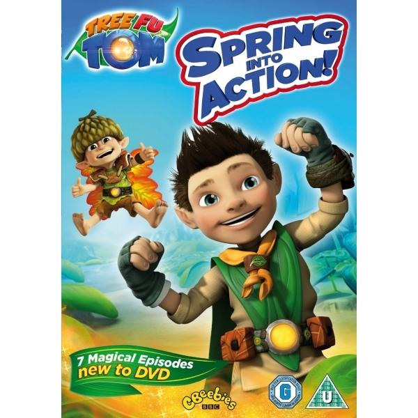 Tree Fu Tom: Spring Into Action DVD