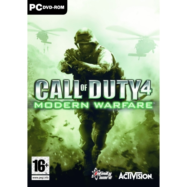 Call Of Duty 4 Modern Warfare Game PC