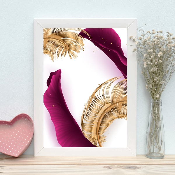 BC139479835725 Multicolor Decorative Framed MDF Painting