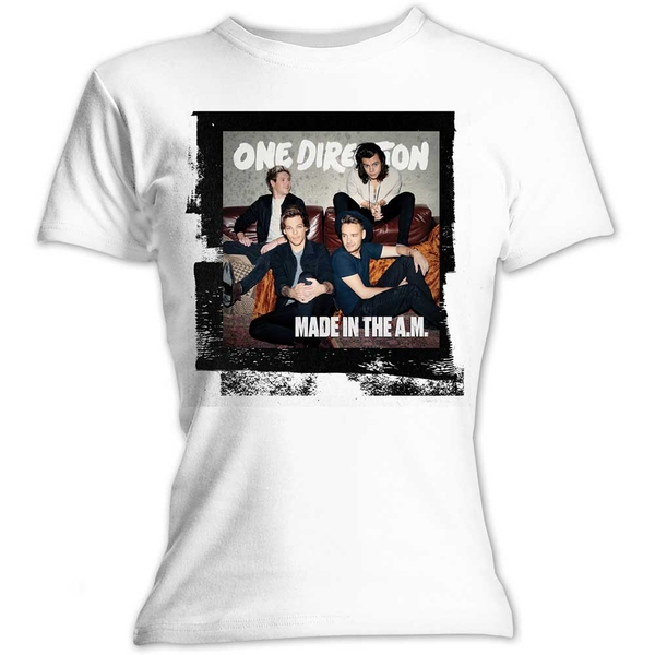 One Direction - Made in the A.M. Women's Small T-Shirt - White