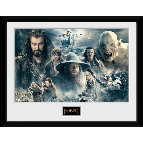 The Hobbit Battle of Five Armies Collage Collector Print