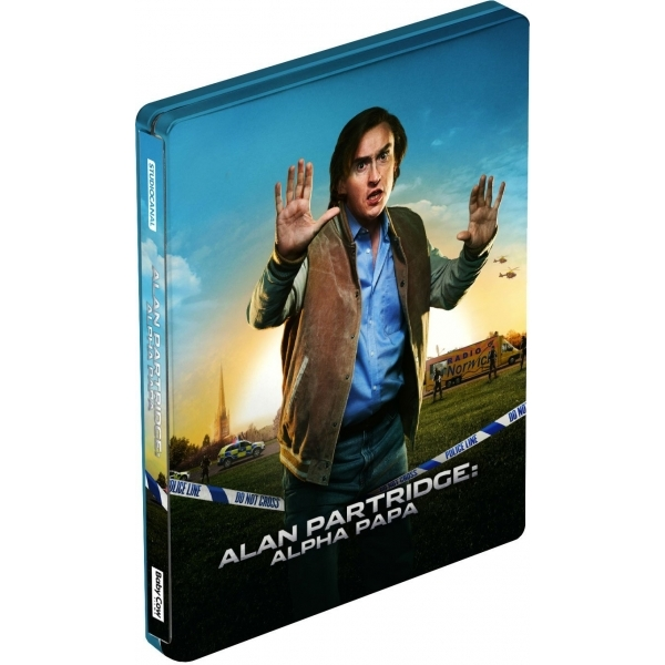 Alan Partridge Alpha Papa Steelbook Blu-ray   DVD